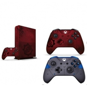 Microsoft Xbox One S 2TB - Gears of War 4 Limited Edition Red + Extra